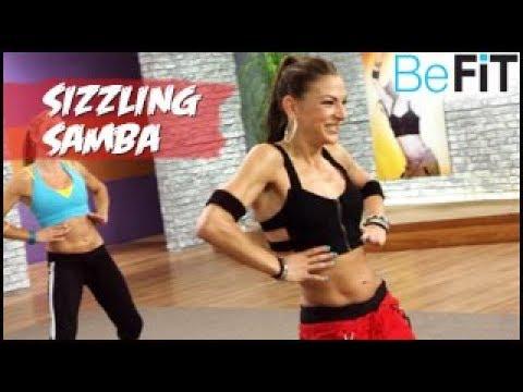 Sizzling Samba Cardio Dance: Dance off the Inches- Emily Naim