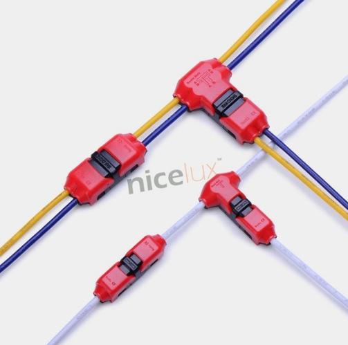 10 шт коннекторов для быстрого сращивания проводов
