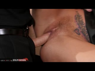 Ryan ryder & britney amber [ dominance &  big boobs &  group / milkings , boobs , cumshot in mouth , bondage , shaved , ass , de