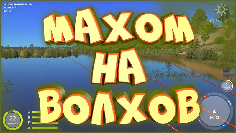Плотва на реке Волхов • Русская рыбалка 4 • Ловля на фидеры