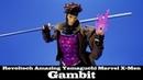 Amazing Yamaguchi Gambit Kaiyodo Revoltech X-Men Marvel Action Figure Review