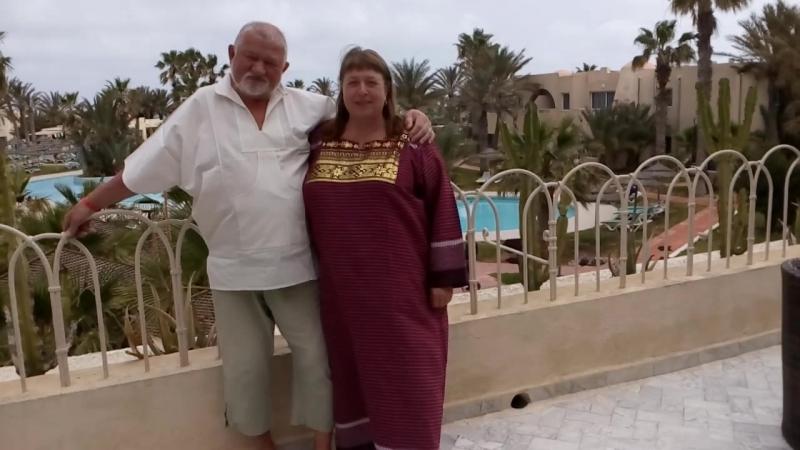 8 мая 2018. Остров Джерба. Северная Африка. Мы в национальных костюмах, там и прикупленных.
