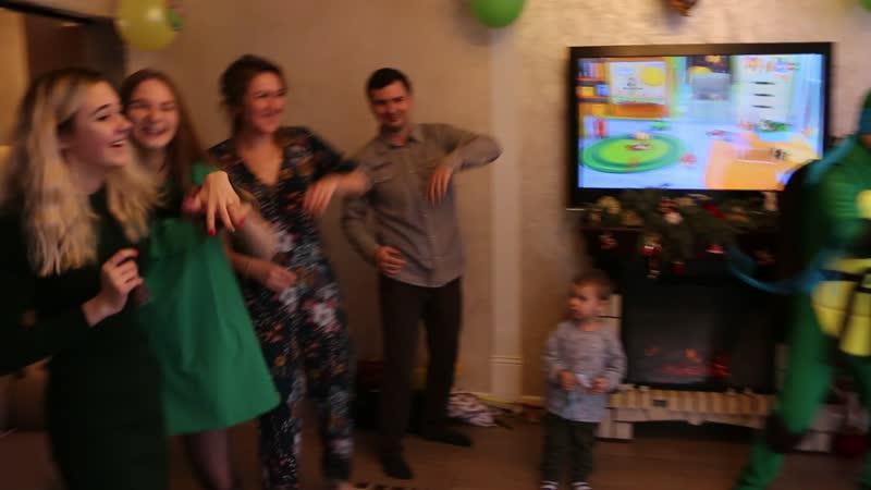 Танцевальный батл на Колином Дне рож.