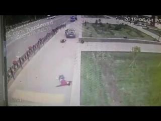 Наезд на пешеходов в Домодедово
