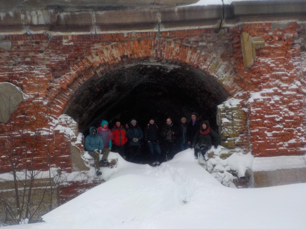 Героический снежно-ледовый поход на 2-й северный форт Кронштадта