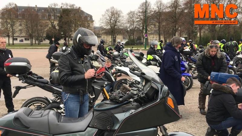 Manif des motards FFMC du 15 décembre 2018 contre les ZFE - YouTube