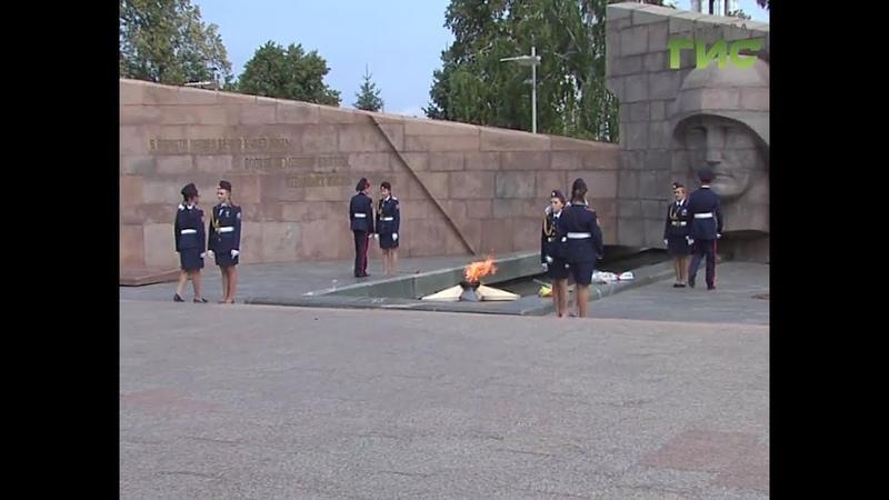 Дань памяти воинам погибшим в годы Великой Отечественной войны отдали самарские кадеты