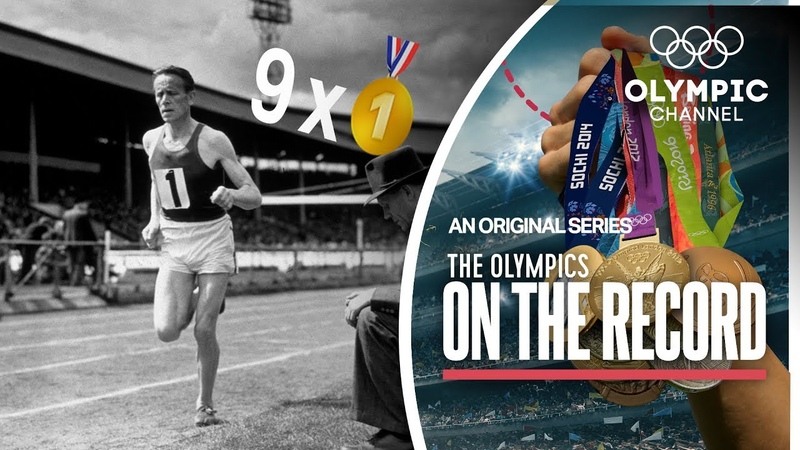 9 x Gold in 1 Games Finland's Middle Distance Runner Paavo Nurmi The Olympics On The Record