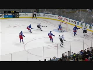 Carl Hagelin's Stretch-Pass Ilya Kovalchuk's Fake Leads To Goal For Kings