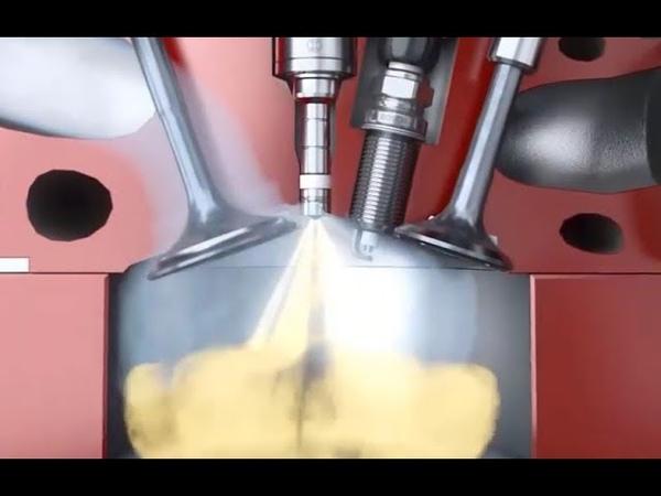 Quay chậm quá trình cháy bên trong động cơ xăng GDI