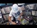 Classic Vinyl 45 Mix Set DJ Ace on custom mini turntables pt2 6-17-18