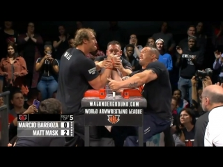 Matt Mask vs Marcio Barboza WAL 402 full armfight