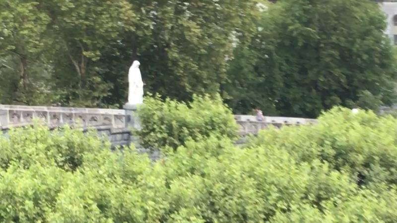 Groto in Lourdes France
