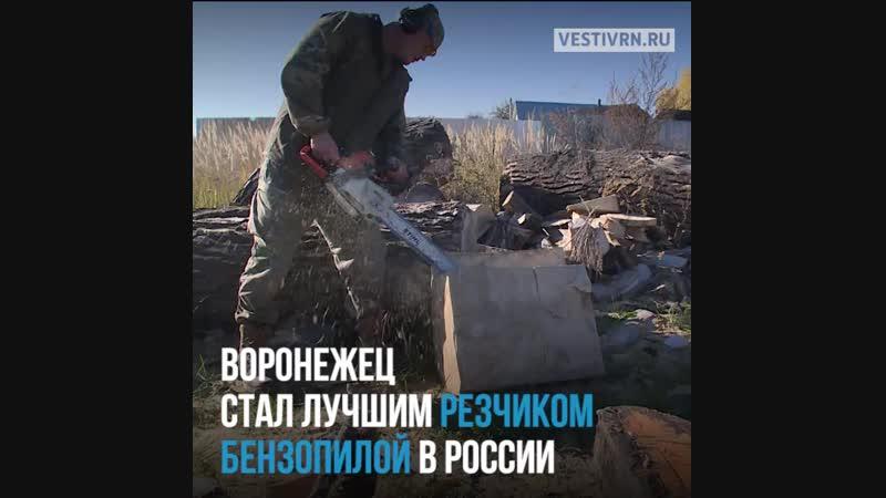 Лучший в стране резчик бензопилой по дереву из Воронежа