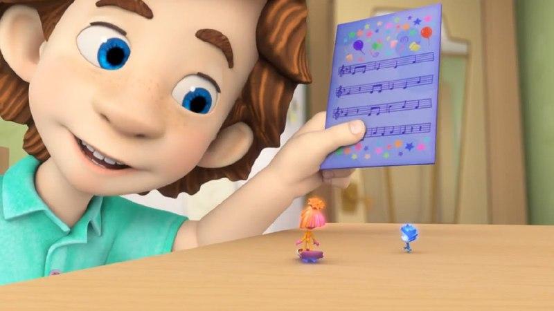 Фиксики Ноты Познавательные мультики для детей