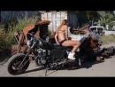 I love moto (съемка фотосессии) Мира Каргина
