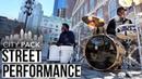 City Pack Street Performance With Rashid Williams