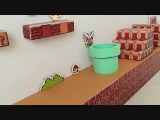 ハムマリオ( HAMUMARIO)Hamster Super Mario Bros