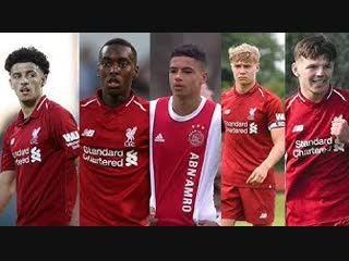 Top 5 Liverpool Academy Players 📈 • 2018/19