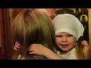 Клип с крещения Кристины. Храм Святого Великомученика Георгия Победоносца