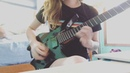 "Sarah Longfield on Instagram: ""Little sneak peak practice of a song off my new album 🤫 . . . . . strandberg strandbergguitars fishman fishmanf..."