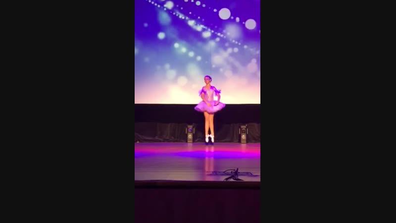 Мазанова Анжелика ( вариация феи серебра из балета Спящая красавица)2018-2019.mp4