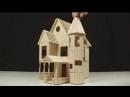 строительство дома из мини бруса своими руками