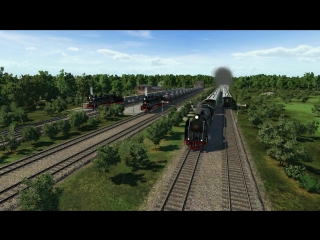 Интенсивное движение паровозов 1