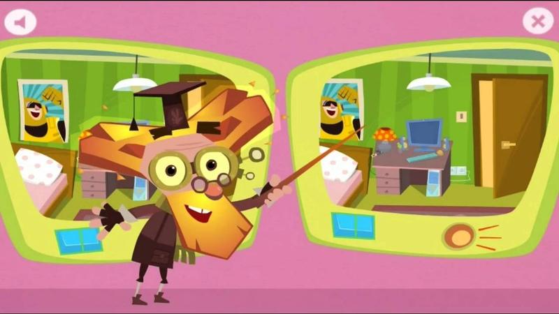 МУЛЬТФИЛЬМ ФИКСИКИ. Найди отличия! Развитие внимания и памяти. Мультик игра для детей !