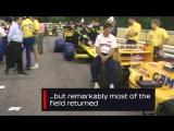 Start Line Chaos _ 1987 Austrian Grand Prix
