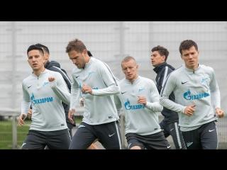 «Зенит» — «СКА-Хабаровск»: открытая тренировка