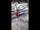 Надоела уже Зима и снег ❄️😁 мы с доченькой хотим Весны🌱 и солнышко ☀️✨ гуляем 👯 наулице 30 марта 2018г🙈