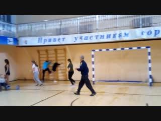 Любители бега.Тренировка. г.Белозерск 18.11.2018г.