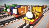 Minecraft Peter Sam, Sir Handel, Rusty, Duncan Thomas &amp Friends Tutorial
