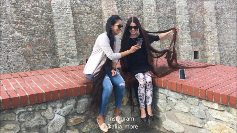 RAPUNZELS EXIST EXTREMELY LONG HAIR!You ve never seen before! Fantastic girls!.MP4