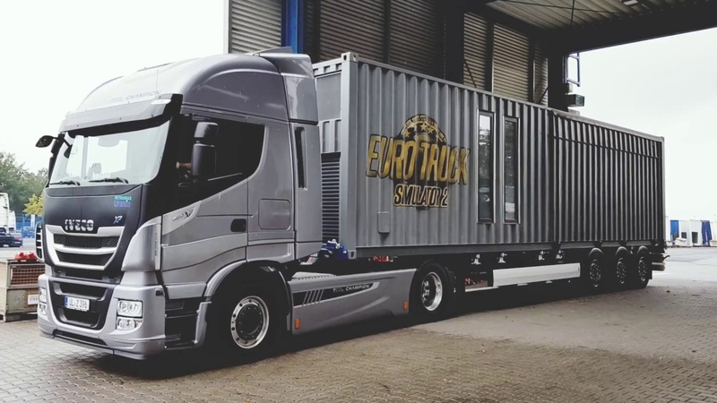 SCS On The Road - New Krone Trailer Chassis