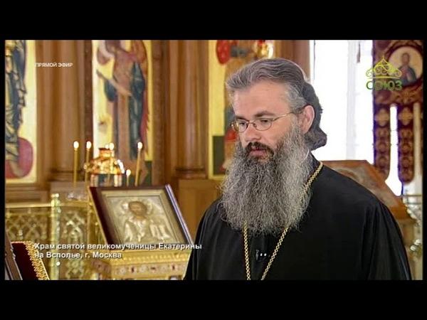 Союз-. Прямое включение. Пребывание пояса от облачения свт. Иоанна Шанхайского в Москве
