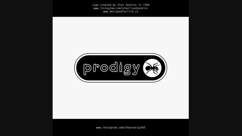 The legendary 'Prodigy' logo was created back in 1996 by Alex Jenkins, while he was an Art Director at XL