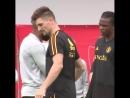 За что отвечает Тьерри Анри в сборной Бельгии? Смотри сам