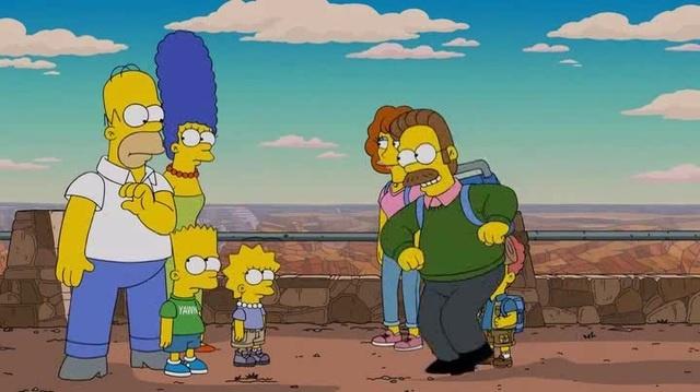 Homer teases Flanders · coub, коуб