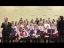 Образцовый детский духовой оркестр Little Bаnd и сводный хор ДШИ №5 г Вологда