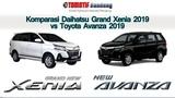 Komparasi Daihatsu Grand Xenia 2019 vs Toyota Avanza 2019