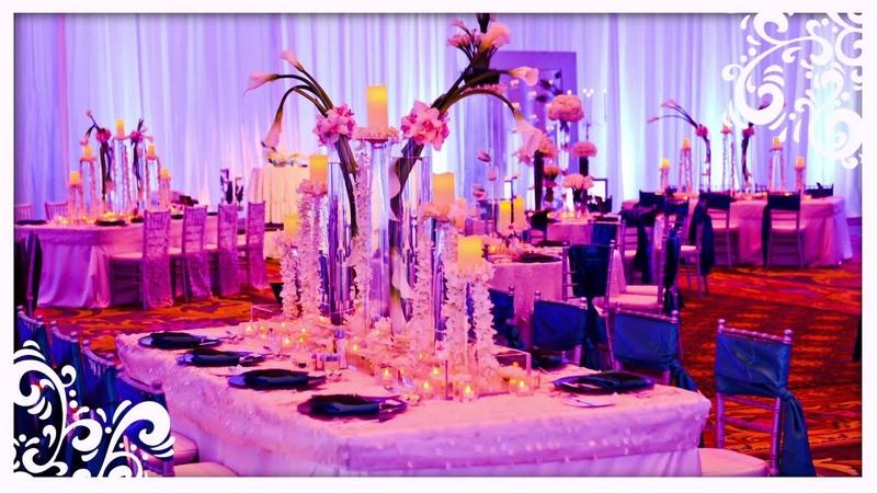 Disneys Fairy Tale Weddings Tip Pinspotting, Uplighting and Pipe Drape
