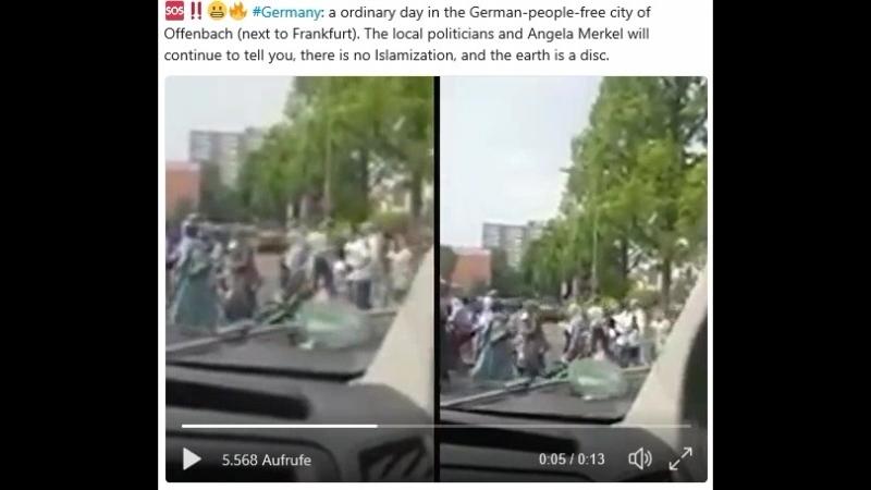 Offenbach bei Frankfurt ist islamisiert