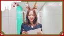 [🎥] DISPATCH x KPOP Girlgroup Maknae Christmas Party Invitation Letter to IZ*ONE Maknae's Jang Wonyoung!