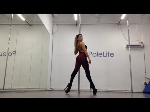 Оксана Шайн exotic pole dance