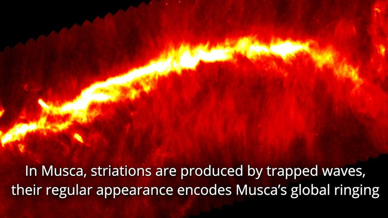 Межзвездная симфония облака Муска