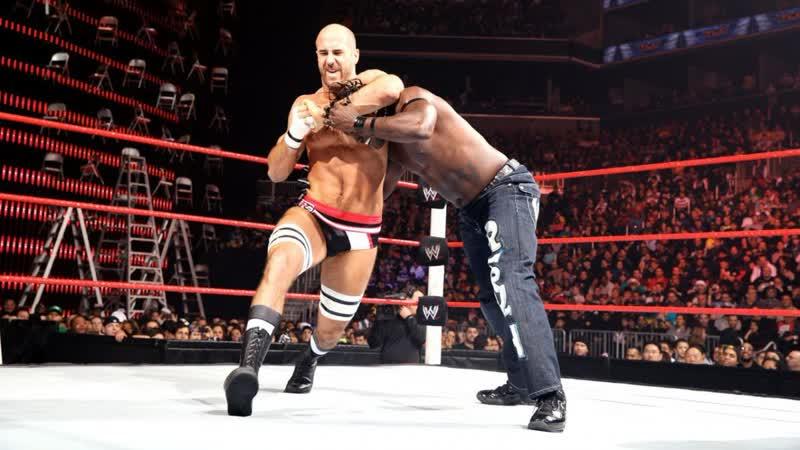 (WWE Mania) TLC 2012 Antonio Cesaro vs. R-Truth - United States Championship