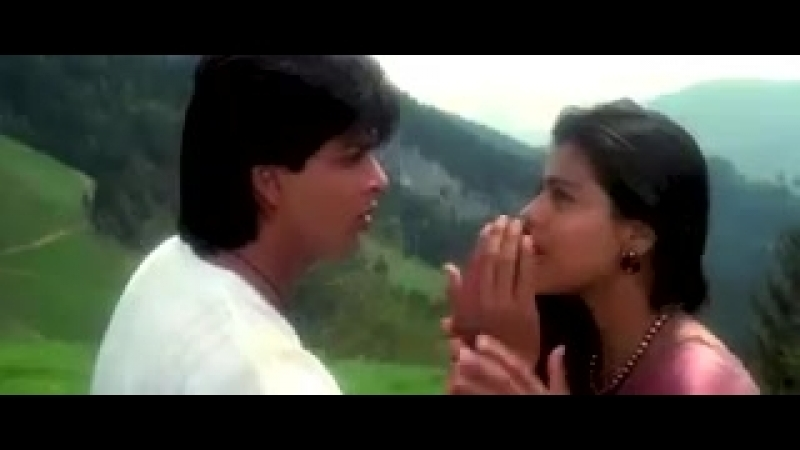 Шахрукх Кхан и Каджол Непохищенная невеста Shahrukh Khan Kajol Tumjhe Dekha Dilwale Индия Индийский Клип фильм Кино Музыка.