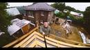 Дом из кирпича ФАГОТ цвет Лесной орех фактура Мраморный с фаской МрПП80 fagot